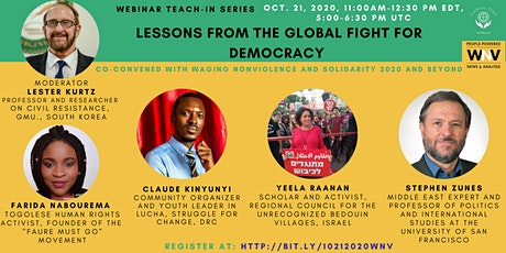 Lessons From the Global Fight for Democracy tickets