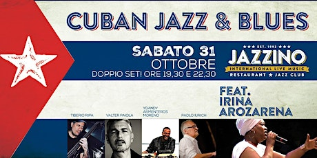 Cuban Jazz and Blues feat. Irina Arozarena - Live at Jazzino biglietti