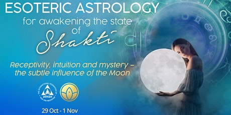 Esoteric Astrology - The subtle influence of the Moon tickets