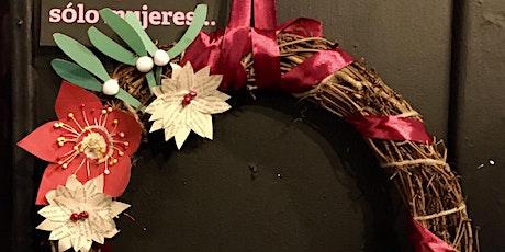 Paper flower Wreaths tickets