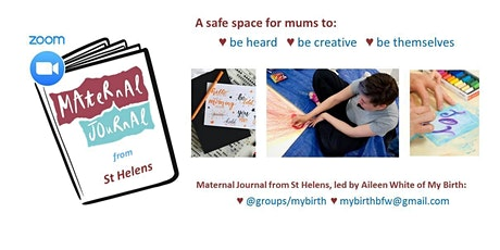 Maternal Journal from St Helens on Zoom November 2020 tickets