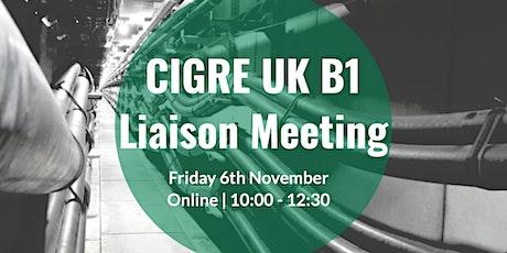 CIGRE UK B1 Technical Liaison Meeting tickets