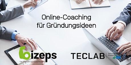 Online-Coaching für Gründungsideen Tickets