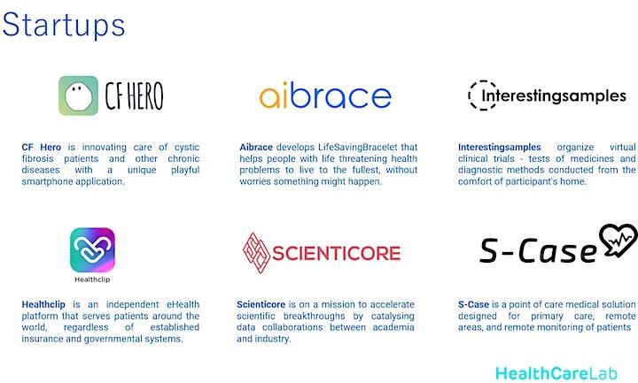 HealthCare Lab Demo Day - Online live stream image