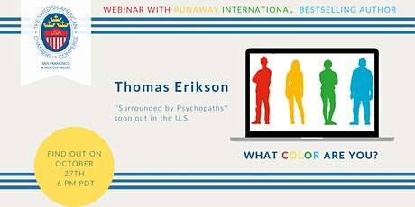 "SACC-SF/SV: Thomas Erikson – Author of Bestseller ""Surrounded by Idiots"" tickets"