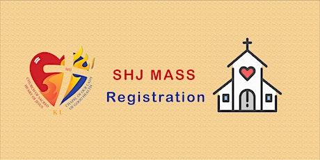 [TEST] SHC Sunday Mass tickets