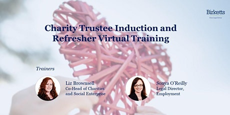 Charity Trustee Induction and Refresher Virtual Training tickets