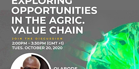 WPL WEBINAR - EXPLORING OPPORTUNITIES IN THE AGRIC. VALUE CHAIN tickets