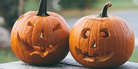 Halloween Pumpkin Carving & Crafts 10am-11am Saturday 31st Oct tickets