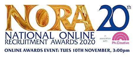 National Online Recruitment Awards 2020 tickets