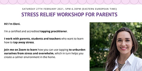 Stress Relief Workshop for Parents tickets