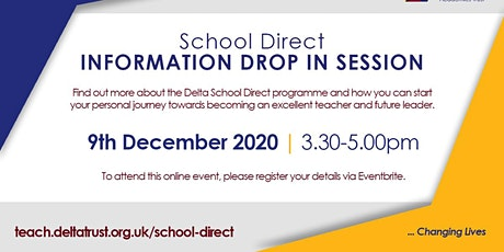 Delta School Direct Information Drop In Session tickets