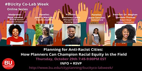 Planning for Anti-Racist Cities: How Planners Can Champion Racial Equity tickets