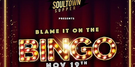 Blame It On The Bingo! tickets