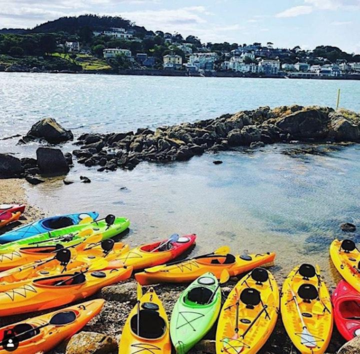 Kayaking in Dalkey, Killiney Hill, Sea Swim image