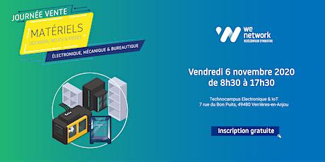 Journée vente de matériels électronique, mécanique et bureautique billets