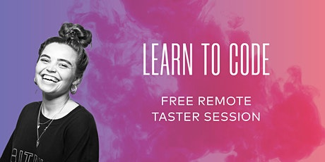 Free Online Coding Taster  Session with _nology - 25/11/20 tickets