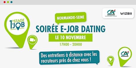 E-Job Dating Normandie-Seine : décrochez un emploi dans votre région billets
