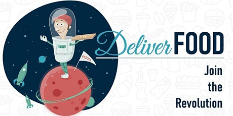 DELIVERFOOD: JOIN THE REVOLUTION biglietti