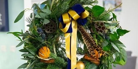 Luxury Christmas wreath making at Barley Wood tickets