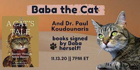 Book Event: Dr. Paul Koudounaris & Baba the Cat! tickets
