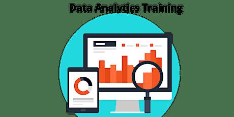 4 Weeks Data Analytics Training Course in Waterville tickets
