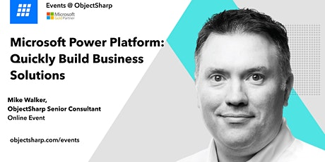 Microsoft Power Platform: Quickly Build Business Solutions tickets