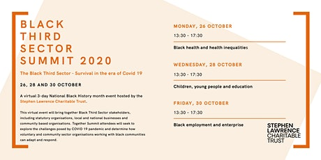 SLCTs Black Third Sector Summit 2020 tickets