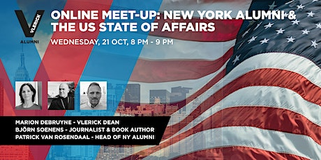 Vlerick Alumni - Online Meet-up - The US state of affairs tickets