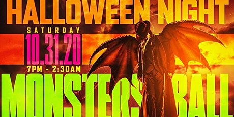 Halloween  Night Monster Ball Rooftop  Dinner  Party | Hookah tickets