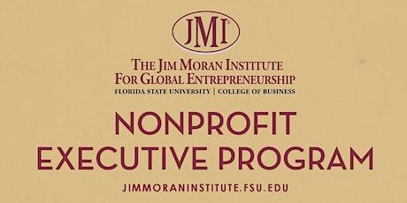 Jim Moran Institute Nonprofit Executive Program - Broward County EXTENDED tickets