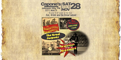 The Dimestore Cowboys, Usual Suspects and Justin Crider tickets