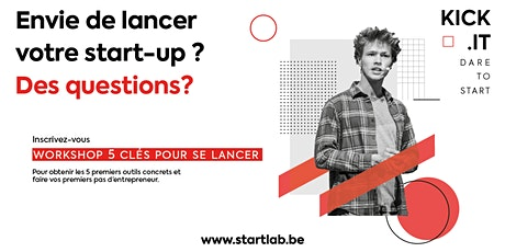 Kick.it - Workshop *Les 5 clés pour te lancer* tickets