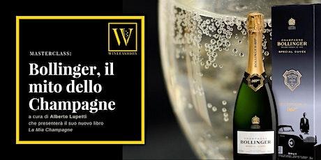 Masterclass: il mito dello Champagne biglietti