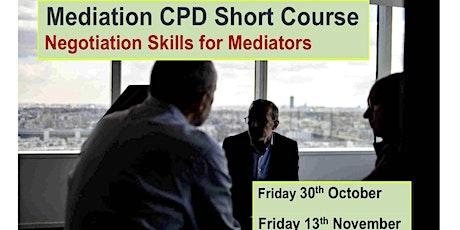 Mediation CPD tickets