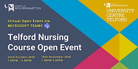 Telford Nursing Course Open Event tickets
