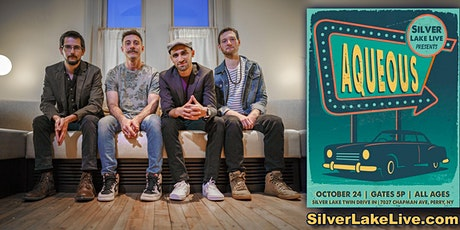 AQUEOUS-10/24- LIVE Concert at Silver Lake Twin Drive-In - Car Pass Pricing tickets