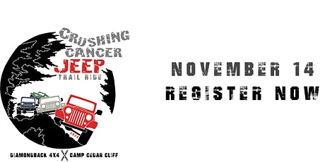 Crushing Cancer Jeep Trail Ride tickets