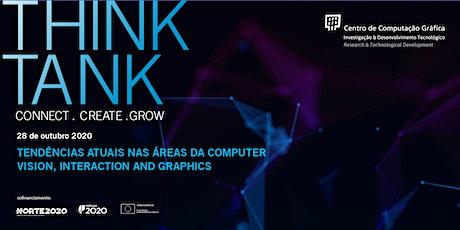 Tendências atuais nas áreas da Computer Vision, Interaction and Graphics bilhetes