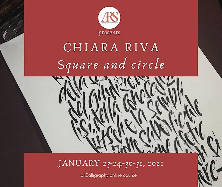 Immagine Square and circle - Calligraphy workshop with Chiara Riva