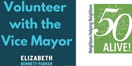 Volunteer with the Vice Mayor tickets