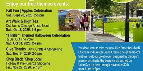 """75th St. Boardwalk """"Thriller"""" Halloween Celebration tickets"""