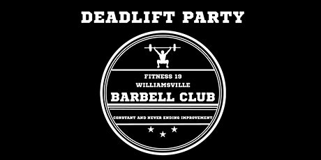 DEADLIFT PARTY 2020 tickets