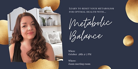 Eat right...Feel Your Best with Metabolic Balance tickets