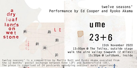 twelve seasons' performance by Ed Cooper & Ryoko Akama tickets