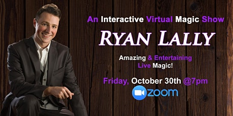 Online Magic Show | Interactive magic and comedy show with Ryan Lally tickets