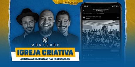 Workshop Igreja Criativa (ll edição) ingressos
