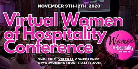 Virtual Women of Hospitality Conference tickets