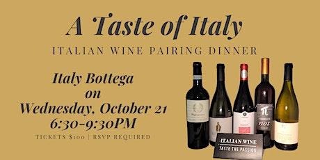 Taste of Italy: 5-Course Wine Pairing Dinner tickets