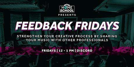 Feedback Fridays tickets